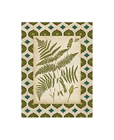 "Vision Studio Moroccan Ferns IV Canvas Art - 15.5"" x 21"""