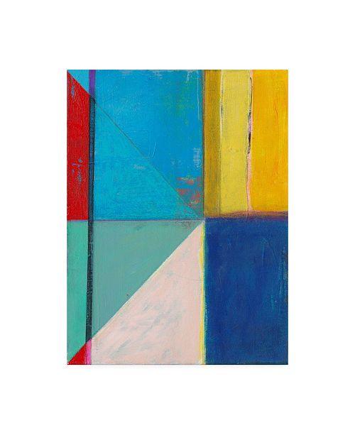 "Trademark Global Jodi Fuchs Colorful Geometrics II Canvas Art - 15.5"" x 21"""