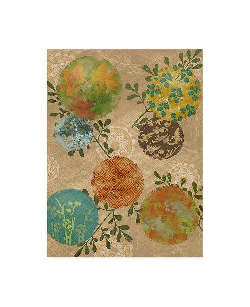 """Trademark Global Jade Reynolds Magic I Canvas Art - 15.5"""" x 21"""""""