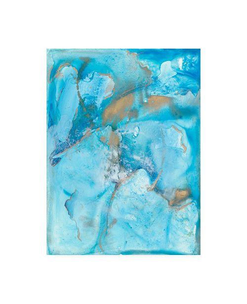 """Trademark Global Joyce Combs Aquarium Abstract II Canvas Art - 27"""" x 33.5"""""""