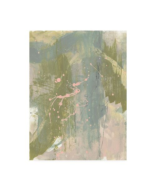 "Trademark Global Jennifer Goldberger Op Splash I Canvas Art - 15.5"" x 21"""