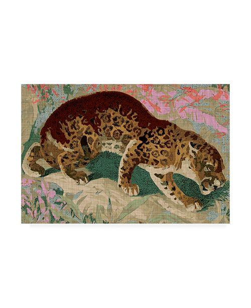 """Trademark Global Jarman Fagalde Concrete Jungle Cat I Canvas Art - 27"""" x 33.5"""""""