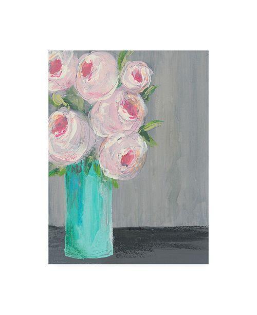 """Trademark Global Regina Moore Sorbet Floral I Canvas Art - 15.5"""" x 21"""""""