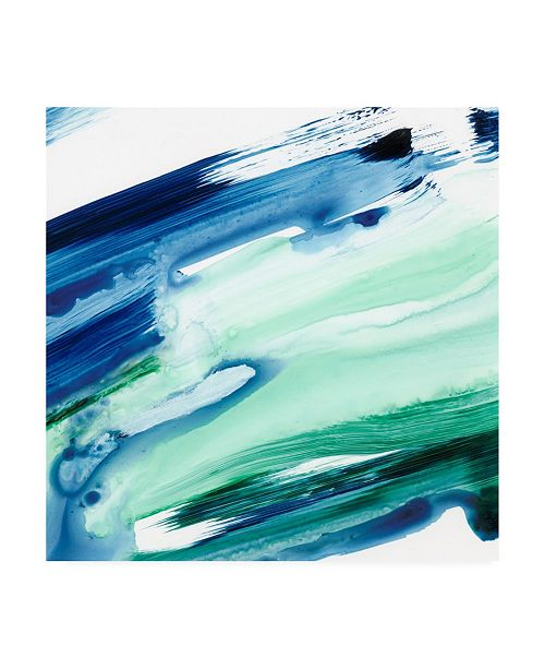 "Trademark Global Ethan Harper One Fluid Motion I Canvas Art - 15.5"" x 21"""