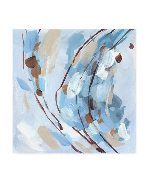 "Trademark Global Melissa Wang Restless Wave I Canvas Art - 19.5"" x 26"""