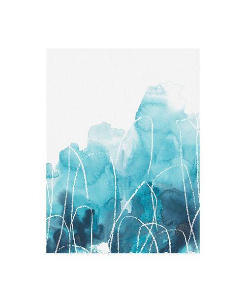 "Trademark Global June Erica Vess Abstract Coral III Canvas Art - 15.5"" x 21"""