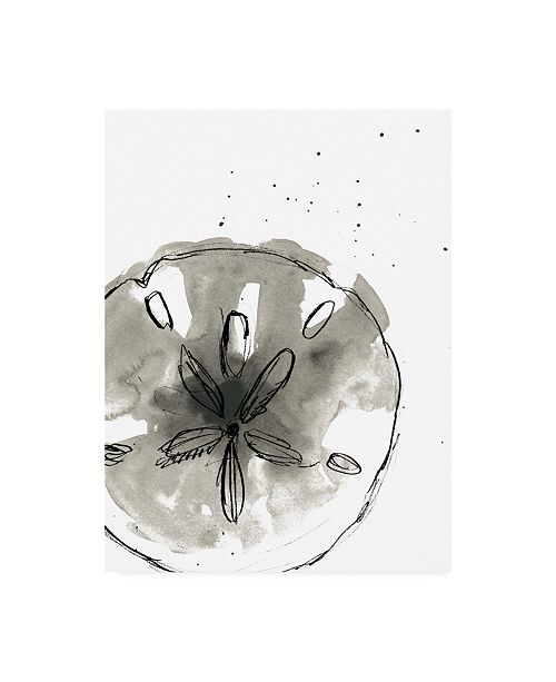"Trademark Global June Erica Vess Ink Coast III Canvas Art - 15.5"" x 21"""
