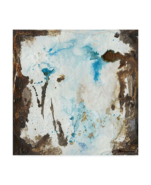 "Trademark Global Joyce Combs Blue Cliffs II Canvas Art - 15"" x 20"""