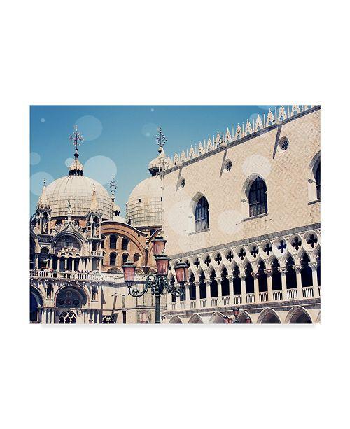 "Trademark Global Sylvia Coomes Venice Bokeh IX Canvas Art - 20"" x 25"""