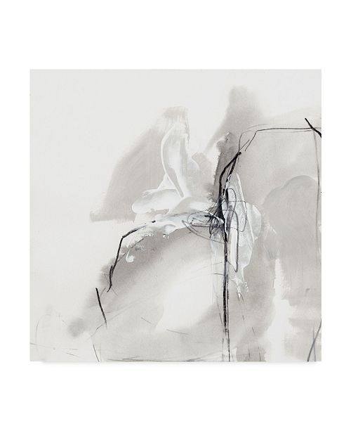 "Trademark Global June Erica Vess Monochrome Gestures I Canvas Art - 15"" x 20"""