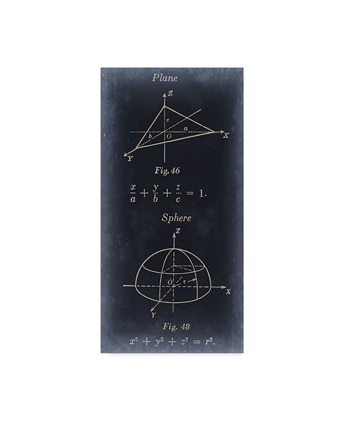 "Trademark Global Jason Johnson Mathematics II Canvas Art - 20"" x 25"""