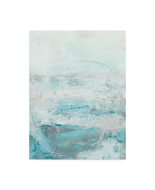 "Trademark Global June Erica Vess Glass Sea I Canvas Art - 20"" x 25"""