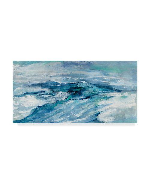 "Trademark Global Silvia Vassileva Archipelago Seascape Canvas Art - 20"" x 25"""