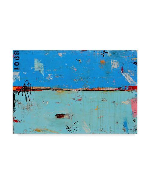 "Trademark Global Erin Ashley Match 1089 Canvas Art - 37"" x 49"""