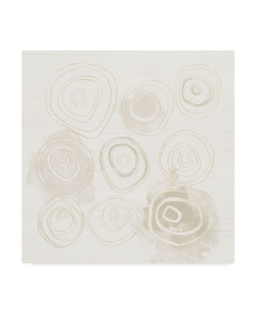 "Trademark Global June Erica Vess Neutral Logic I Canvas Art - 27"" x 33"""
