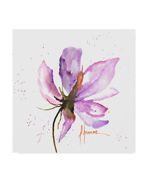 "Trademark Global Leticia Herrera Bold Floral IV Canvas Art - 15"" x 20"""