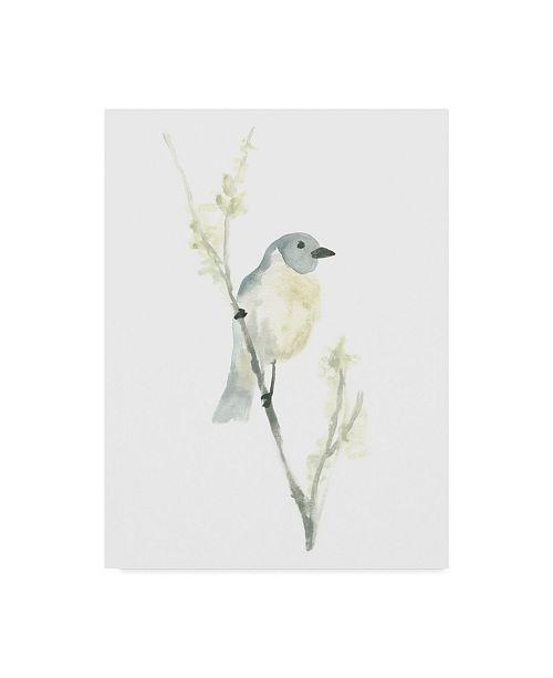 "Trademark Global June Erica Vess Avian Impressions III Canvas Art - 37"" x 49"""