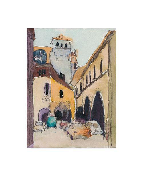 "Trademark Global Samuel Dixon Venice Plein Air I Canvas Art - 20"" x 25"""