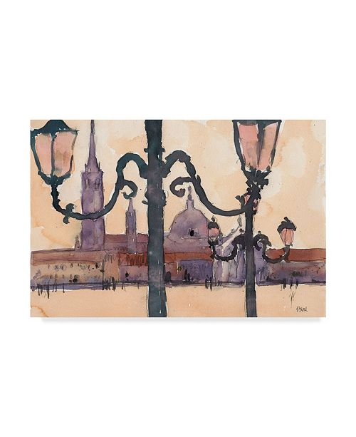 "Trademark Global Samuel Dixon Venice Watercolors XII Canvas Art - 20"" x 25"""