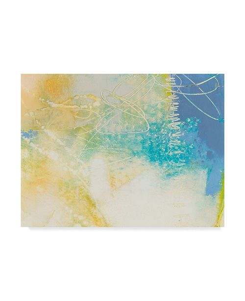 "Trademark Global Sue Jachimiec Blue Lux I Canvas Art - 15"" x 20"""