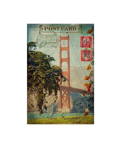"Trademark Global Sandy Lloyd San Francisco Bridge, Ca Canvas Art - 20"" x 25"""