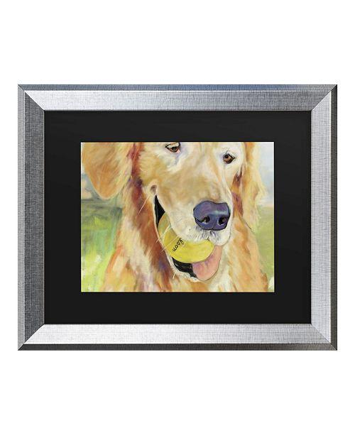 """Trademark Global Pat Saunders-White Gus Matted Framed Art - 27"""" x 33"""""""