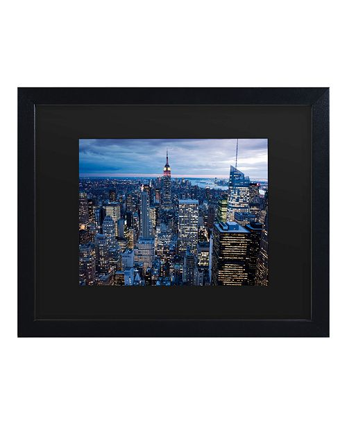 "Trademark Global Masters Fine Art New York City, Ny Matted Framed Art - 15"" x 20"""