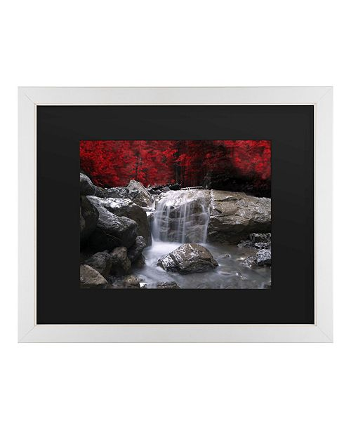 """Trademark Global Philippe Sainte-Laudy Red Vison Matted Framed Art - 20"""" x 25"""""""