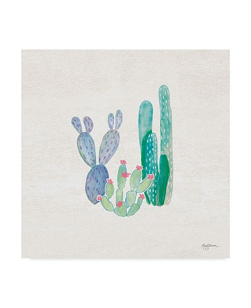 "Trademark Global Mary Urban Bohemian Cactus II Canvas Art - 20"" x 25"""