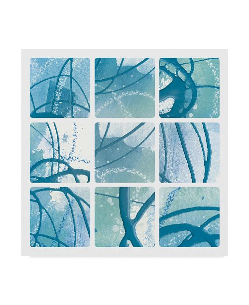 "Trademark Global Moira Hershey Underwater Tiles Canvas Art - 15"" x 20"""
