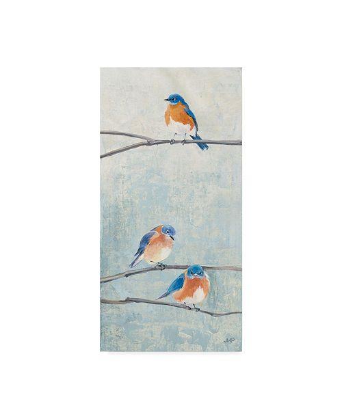 "Trademark Global Julia Purinton Hanging Out II Canvas Art - 20"" x 25"""
