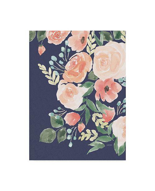 """Trademark Global Jenaya Jackson Blooming Delight II Canvas Art - 20"""" x 25"""""""