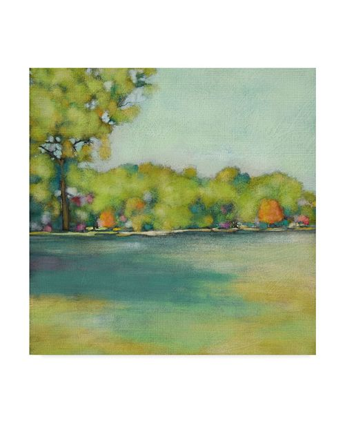 "Trademark Global Chariklia Zarris Parkview II Canvas Art - 27"" x 33"""