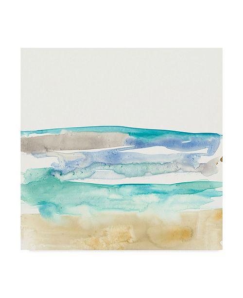 "Trademark Global Jennifer Goldberger Mountains to Sea I Canvas Art - 15"" x 20"""
