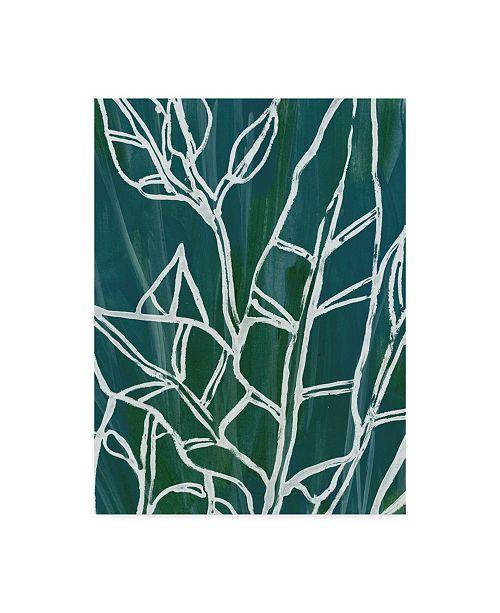 "Trademark Global June Erica Vess Jungle Batik III Canvas Art - 20"" x 25"""