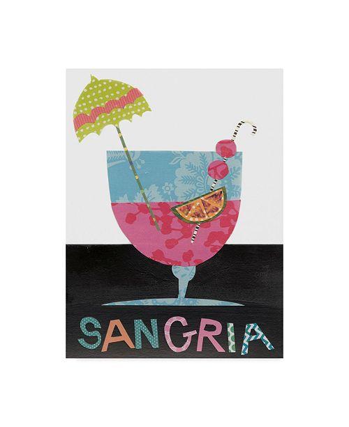 """Trademark Global Regina Moore Mix Me a Drink V Canvas Art - 37"""" x 49"""""""