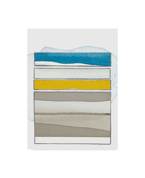 "Trademark Global Rob Delamater Pacific Horizon I Canvas Art - 20"" x 25"""