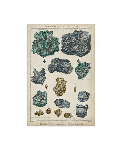 "Trademark Global Vision Studio Mineralogie IV Canvas Art - 20"" x 25"""