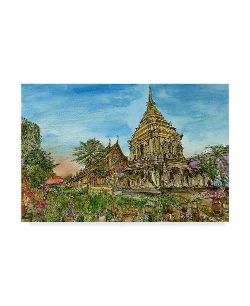 "Trademark Global Melissa Wang Chiang Mai II Canvas Art - 20"" x 25"""