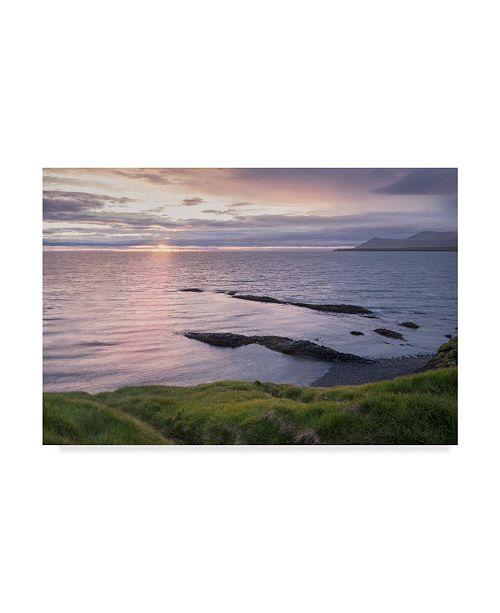 "Trademark Global Danny Head A Simple Sunrise Canvas Art - 15"" x 20"""