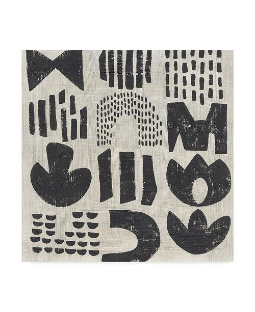 "Trademark Global Chariklia Zarris Tabla I Canvas Art - 20"" x 25"""
