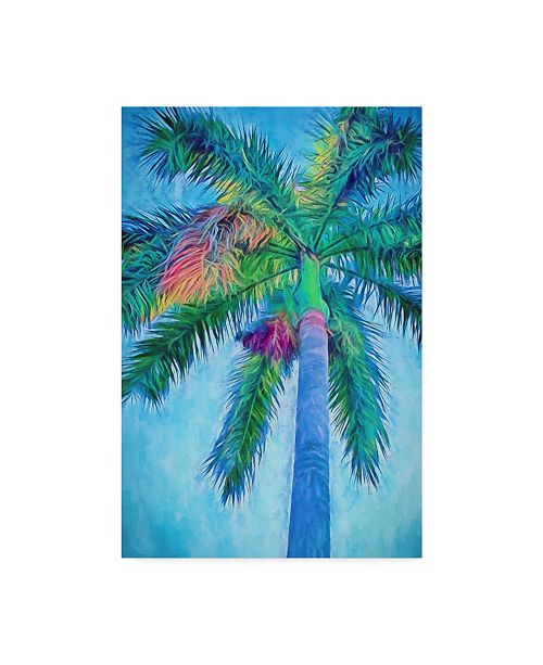 "Trademark Global Melinda Bradshaw Royal Palm Caribbean I Canvas Art - 20"" x 25"""