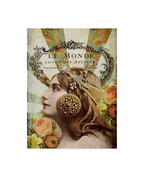 "Trademark Global Sandy Lloyd Femme Paris II Canvas Art - 20"" x 25"""