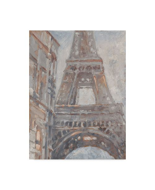 "Trademark Global Ethan Harper Parisian Dawn I Canvas Art - 37"" x 49"""