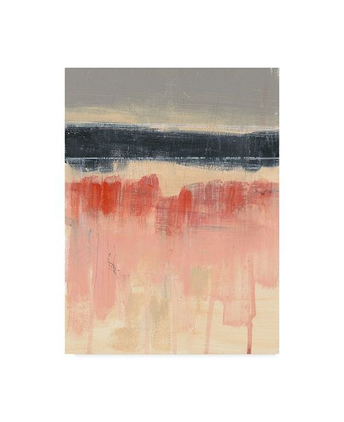 "Trademark Global Jennifer Goldberger Paynes Horizon I Canvas Art - 20"" x 25"""