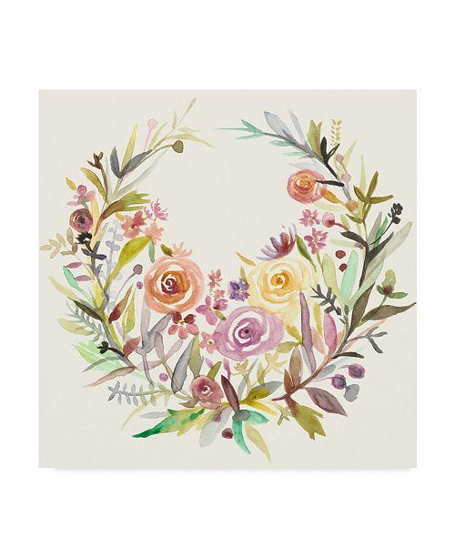 "Trademark Global Chariklia Zarris Mimosa II Canvas Art - 20"" x 25"""