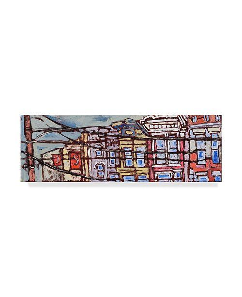 "Trademark Global Erin Mcgee Ferrell Urban Wires I Canvas Art - 20"" x 25"""