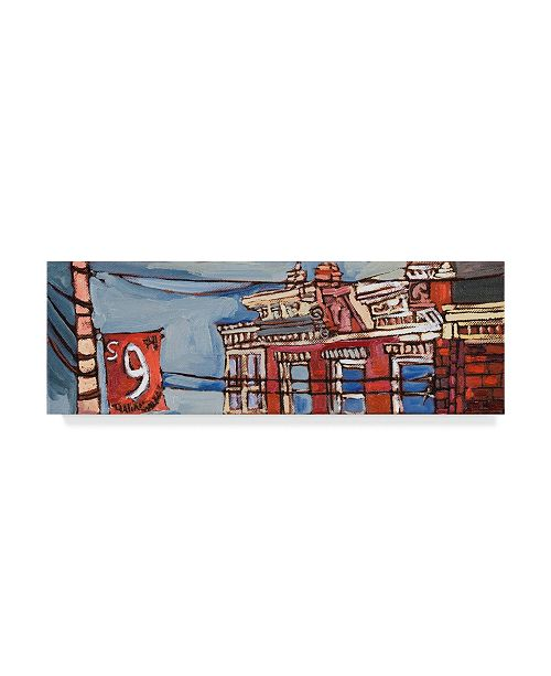 "Trademark Global Erin Mcgee Ferrell Urban Wires III Canvas Art - 20"" x 25"""