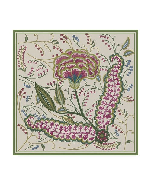 "Trademark Global Melissa Wang Chintz Composition I Canvas Art - 20"" x 25"""