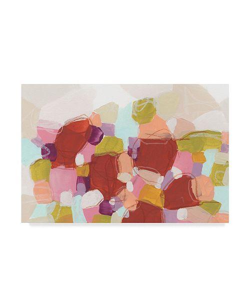 "Trademark Global June Erica Vess Color Cartography I Canvas Art - 15"" x 20"""